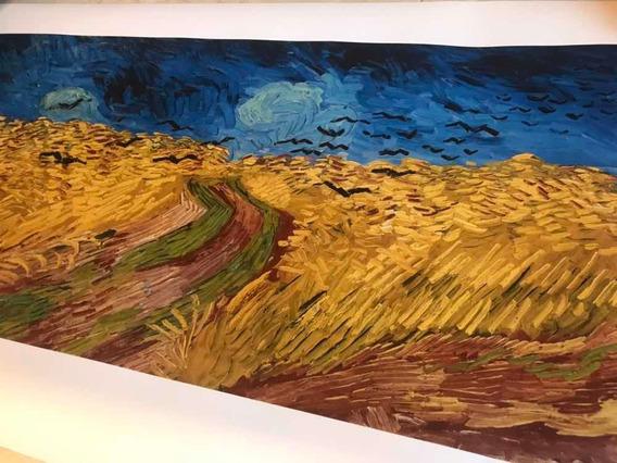 Lamina Cuadro Van Gogh 50.5 X 103cm - Museo Ámsterdam