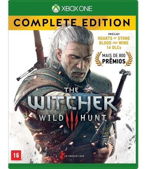 The Witcher 3 Complete Edition Xbox One Midia Fisica Lacrado