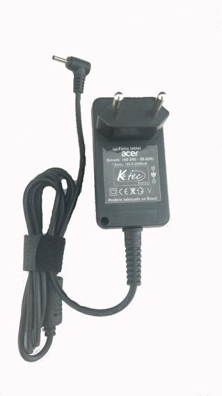 Fonte Carregador Tablet Acer Iconia 12v 2a A100 A500 Outros
