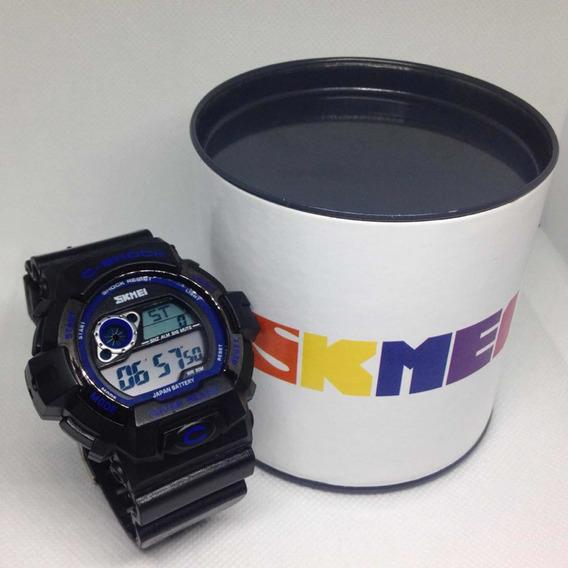 Relógio Skmei C Shock Preto Digital Esporte Barato Promoção