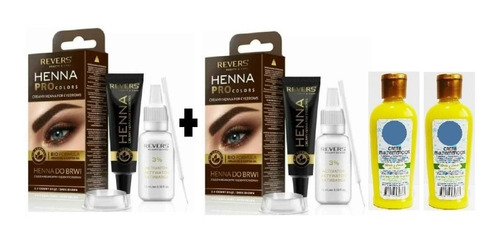 2 - Henna Tintura Para Cejas - mL a $909