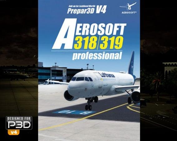 Aerosoft A318/319 Profissional P3d V4.3