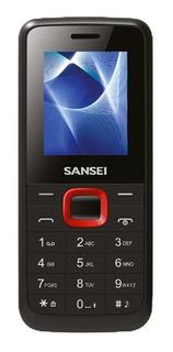 Celular Basico Sansei S241 Teclas Bt Radio Fm Mp3 + Garantia