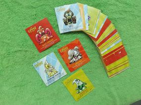 Lote De 68 Cards Coca-cola Geloucos Gogo