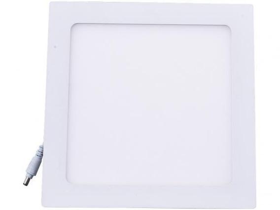 Kit 15 Painel Led Plafon Embutir 18w 3000k Quadrado Ecoforce