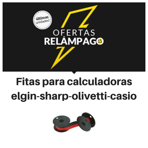 Fitas P/ Calculadora Sharp,olivetti,general,elgin-kit Com 04