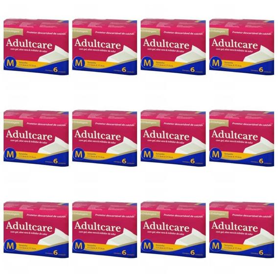 Adultcare Protetor Descartável De Colchão M C/6 (kit C/12)