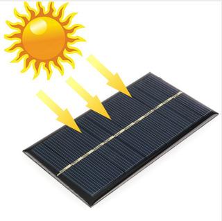 Placa Solar 5v 240ma 1.2w Painel Solar- Célula