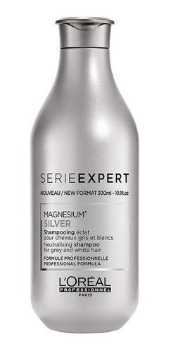 Shampoo Cabello Canas Silver 300 Ml L'oréal