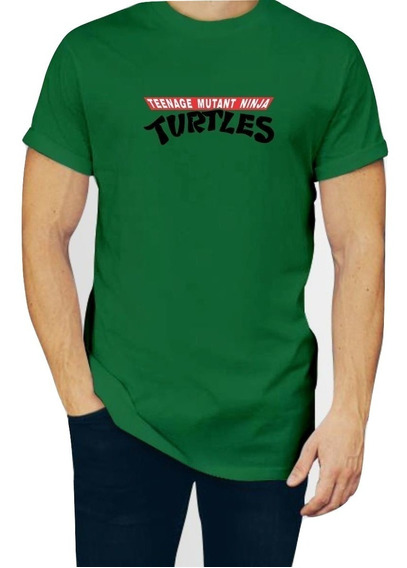 Playera Tortugas Ninja Tmnt Caballero Con Envio P