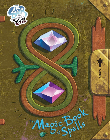 Livro Star Vs The Forces Of Evil The Magic Book Of Spells