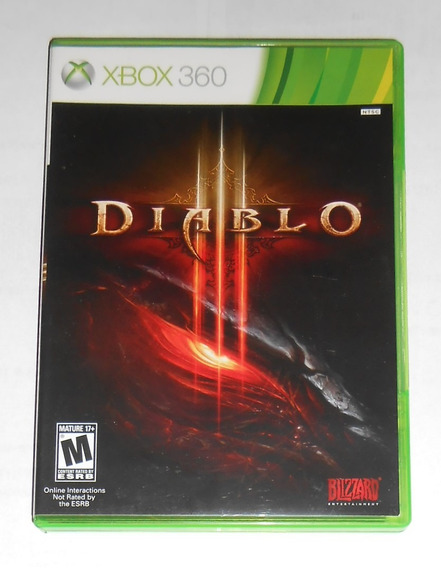 Diablo 3 Iii Original Completo Xbox 360 Cr $15