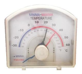 Termómetro Dial Max-min -30 A 60 Grados Centígrados