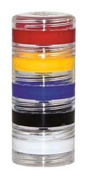 Tinta Facial Color Make Cremosa Com 05 Unidades