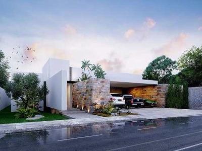 (crm-4184-2549) Residencia En Venta En Merida, Temozon Norte. Privada Artisana