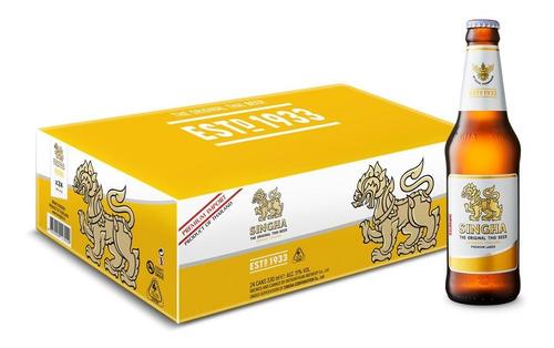 Cerveza Singha, Caja Con 24 Piezas De 330ml