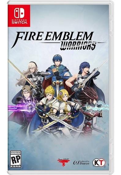 Fire Emblem Warriors - Nintendo Switch ! Novo !
