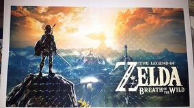 Poster A4 De Mario Odssey E Zelda Breath Of Wild (3d) (foil)