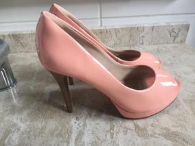 6a708fb45 Scarpin Cor Salmão - Sapatos no Mercado Livre Brasil