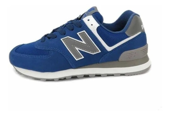 Zapatillas New Balance 574 Dama - Azul