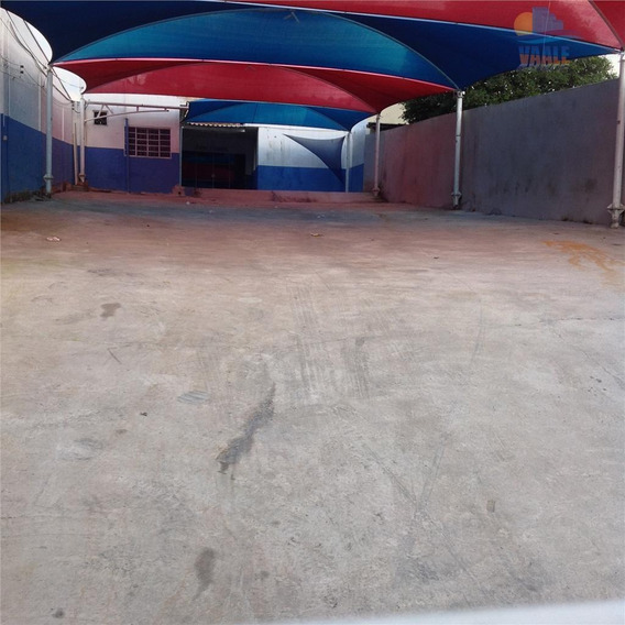Barracão Comercial Para Locação, Jardim Novo Campos Elíseos, Campinas. - Ba0076