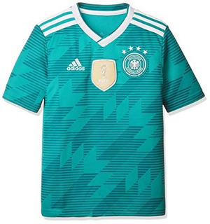 Jersey Alemania 2017 Alternativo Verde adidas 100% Original