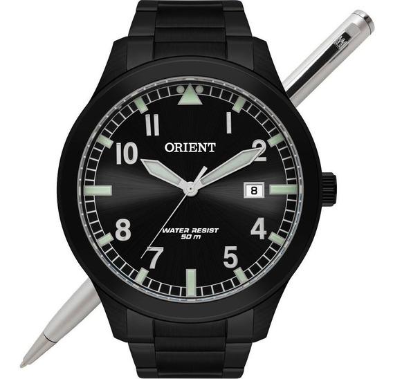 Relógio Orient Masculino Mpss1020 P2px Aço Preto - C/ Nfe