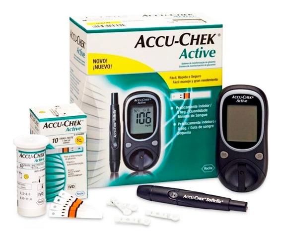 Glucómetro Accu-chek Active Kit (aeon)