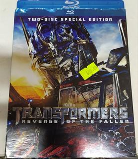Blu Ray Transformers Revenge Of The Fallen Dvd Original