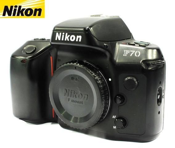 Câmera Nikon F70 Reflex 35mm - Só O Corpo - Analógica