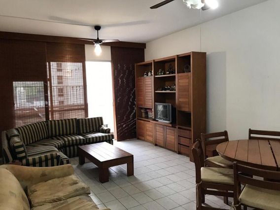 Apartamento De Praia Para Locação Em Guarujá, Pitangueiras, 3 Dormitórios, 1 Suíte, 3 Banheiros, 1 Vaga - Fk0070_1-1520765