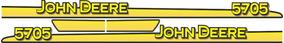 Adesivo Personalizar Trator John Deere 5705