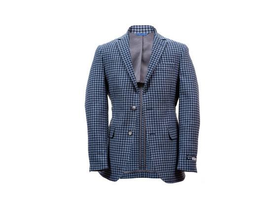 Saco Para Caballero Bruno Corza Blue Slim Fit 100% Lana