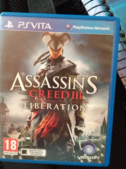 Kit Jogos Pra Psvita Assassins Creed 3 Le Little Big Planet