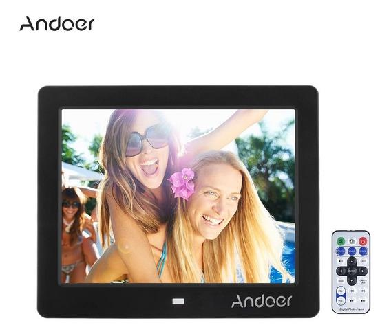 Andoer 8 Lcd Grande Tela Álbum Digital Foto Fotografia Quadr