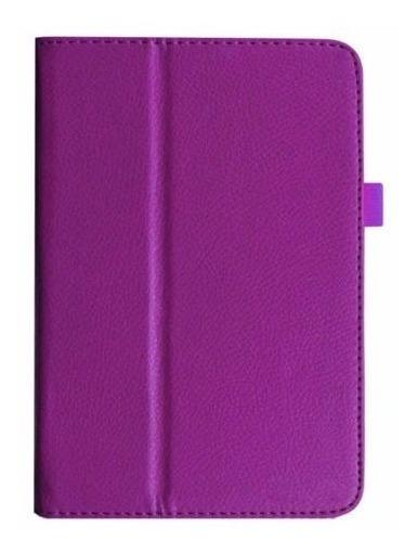Capa De Couro Magnética Tablet Asus Memopad 10 Me102a Roxa