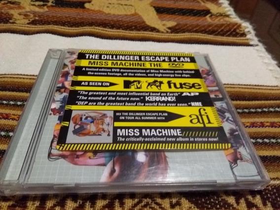 Dvd Dillinger Escape Plan - Miss Machine Obs