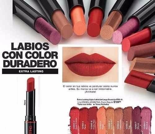 Avon Labial Extra Lasting 20% Off Larga Duración - Mendoza