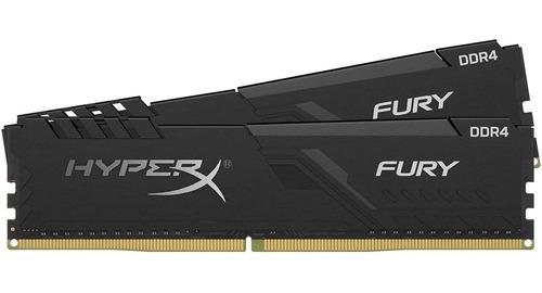 Imagem 1 de 4 de Memória 32gb Kit (2x16gb) Hyperx Fury 3600mhz Ddr4 Cl18