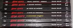 Sin City Frank Miller 7 Volumes Completo Devir Impecável