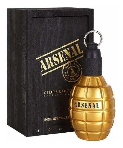 Perfume Arsenal Gold 100ml Masculino Gilles Cantuel Original