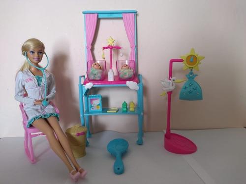 colina Regeneración Fraseología  Barbie Doctora De Bebes 2009 Usada En Buenas Condiciones | Mercado Libre