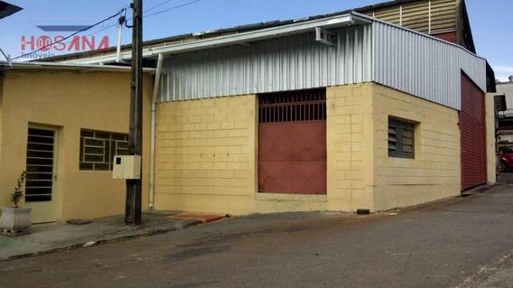 Galpão Para Alugar, 557 M² Por R$ 12.000/mês - Laranjeiras - Caieiras/sp - Ga0022