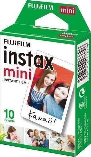 Filme Fujifilm Instax Mini Todas Câmeras C/ 10un Instantânea