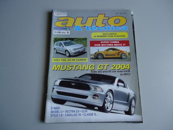 Revista Auto E Tecnica Nº 73 Mustang Gt 2004 - Ford U -