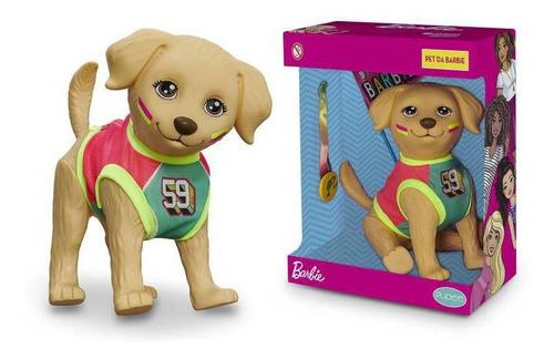 Cachorrinho Brinquedo Pet Da Barbie -taff Esportista