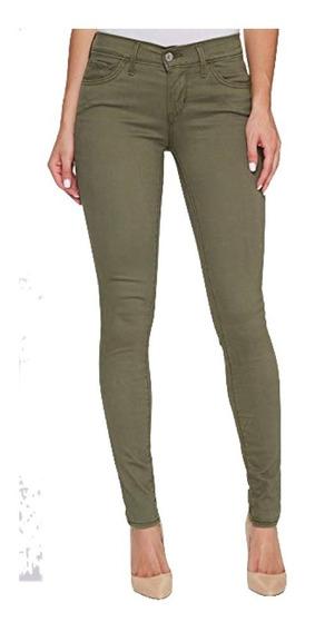 Pantalón Jeans De Mujer Dama Elastizado Bengalina Chupin