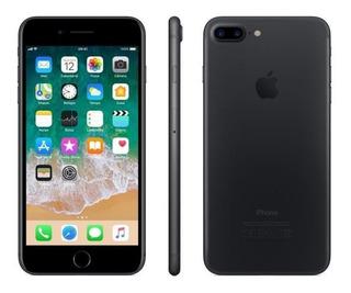 iPhone 7 Plus Preto, Com Tela De 5,5, 4g, 32 Gb E Câmera De