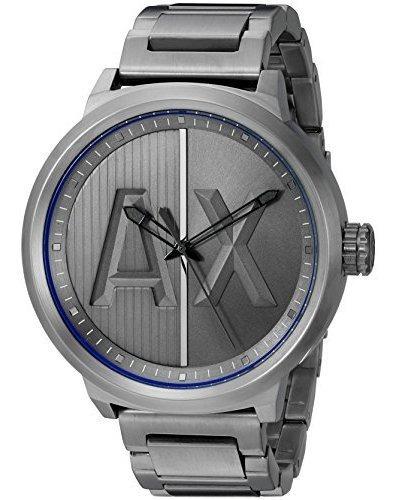 Armani Exchange De Los Hombres Ax1362 Gunmetal Reloj