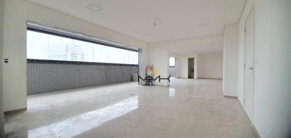 Sala Para Alugar, 98 M² - Encruzilhada - Santos/sp - Sa0310